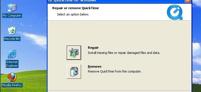 Quicktime for Windows Security